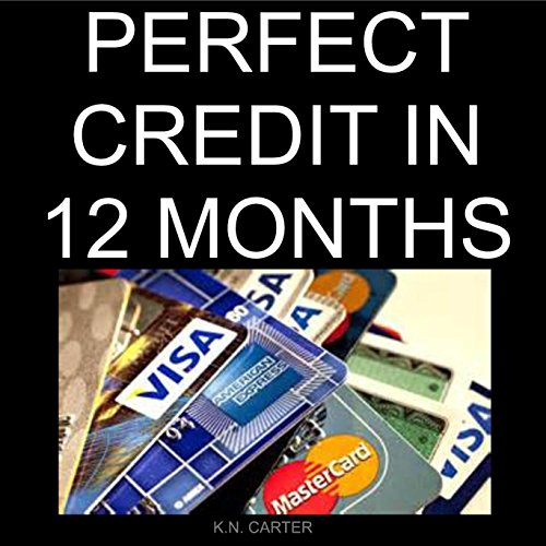 Perfect Credit in 12 Months audiobook cover art