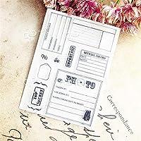 卸売透明クリアスタンプ封筒フォームシリコーンシールローラースタンプDIYスクラップブッキングフォトアルバム/カード作成