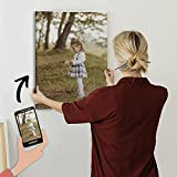 Cuadro Personalizado con tu Foto: Impresión de Foto en Lienzo HDR Barnizado y tensado sobre bastidor de madera. Diferentes tamaños (30x40 cm)...