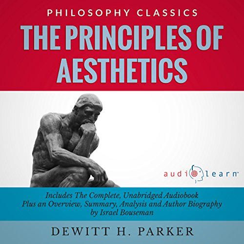 The Principles of Aesthetics audiobook cover art