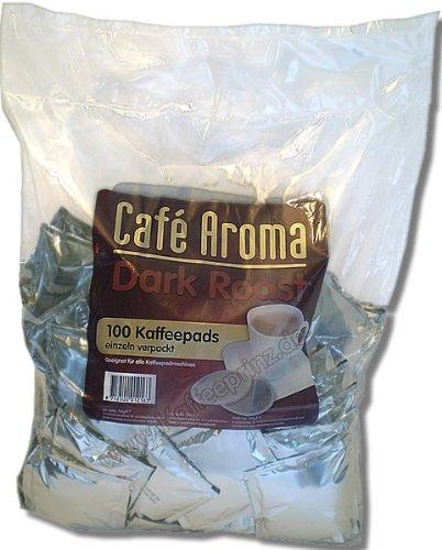 Café Aroma Dark Roast 100 Kaffeepads Megabeutel