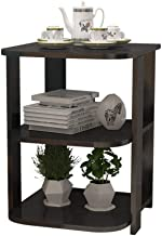Home& Simple Furniture/Living Room Sofa Side Table Coffee Table Corner Cabinet 3 Layers Storage Shelf Night Tables 40 * 40...