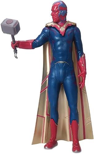 la mejor selección de Marvel Comics Gallery Avengers PVC Estatua Figuras Figuras Figuras Personas Juguete Niños Vision 22.5cm  Compra calidad 100% autentica