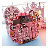 HMEI Linda Calculadora De Escritorio Lucky Cat Office Calculadora Exhibición Grande Mejor Voz Escritorio Estudiante Calculato calculadora de Oficina (Color : Pink)