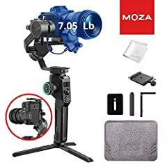 📷【LIGHTWEIGHT POWERFUL】 :The magnesium-alloy integrated technology allows MOZA AirCross 2 to provide robust performance at just 950g (2 lbs) and can achieve seamless cinematic shots with one hand. Featuring a superior motor with a 3.2kg (7 lbs) paylo...