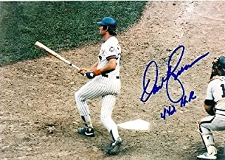 Autograph Warehouse 10639 Dave Kingman Autographed 8 x 10 Photo New York Mets Inscribed 442 Hr