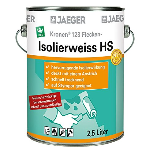 Kronen Isolierweiss 123 HS Isolierfarbe 750 ml