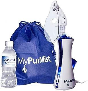 MyPurMist Classic Handheld Personal Steam Inhaler (Plug-in), Vaporizer and Humidifier - 2020 Model