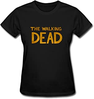Walking Dead Women's Cool Short Sleeve T-shirt Black