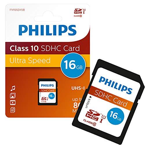 Philips SDHC Card 16GB Class 10 UHS-I U1