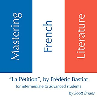 "Mastering French Literature: ""La Pétition"" by Frédéric Bastiat cover art"