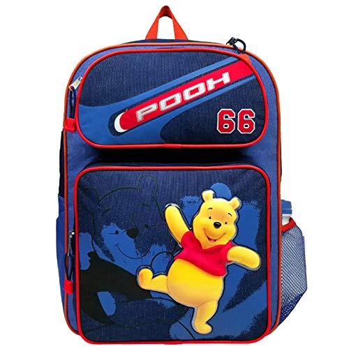 Disney Rucksack?¨C C?Winnie The Pooh?¨C?blau W/Wasser Flasche Gro?e Tasche 28177