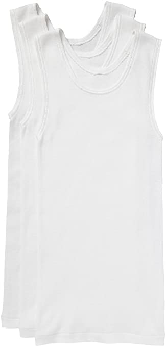 Bonds Boys Underwear Cotton Chesty Singlet (3 Pack)