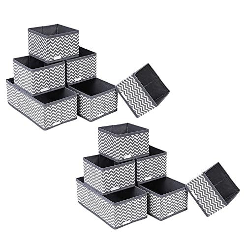 12 Stück Aufbewahrungsbox Ordnungsbox...