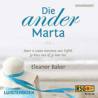 Die ander Marta [The Other Marta] cover art
