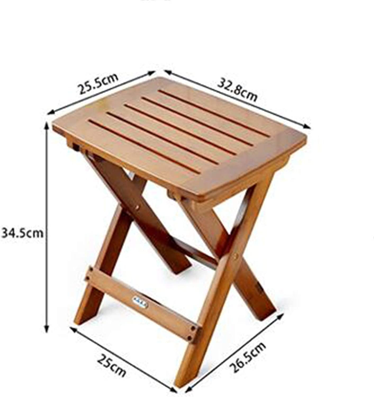 ZR-Wall Table Folding Table Portable Square Dining Table Bamboo Dining Table -Save Space