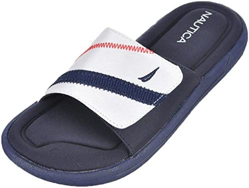 Nautica Bilander Slide Sandal Little Kid//Big Kid