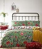 Creative Cloth Creativa De Tela Pomelo Duvet Set, Polialgodón, Verdi Verde, Doble, algodón poliéster, Double