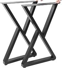 Dioche Tafelpoten, industrieel 2 stuks doe-het-zelf tafelframe poten houder meubels poten accessoires voor thuis kantoor ...