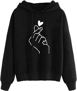 2018 New!!Ladies Hooded Pullover Tops Blouse,Women Long Sleeve Hoodie Sweatshirt Jumper