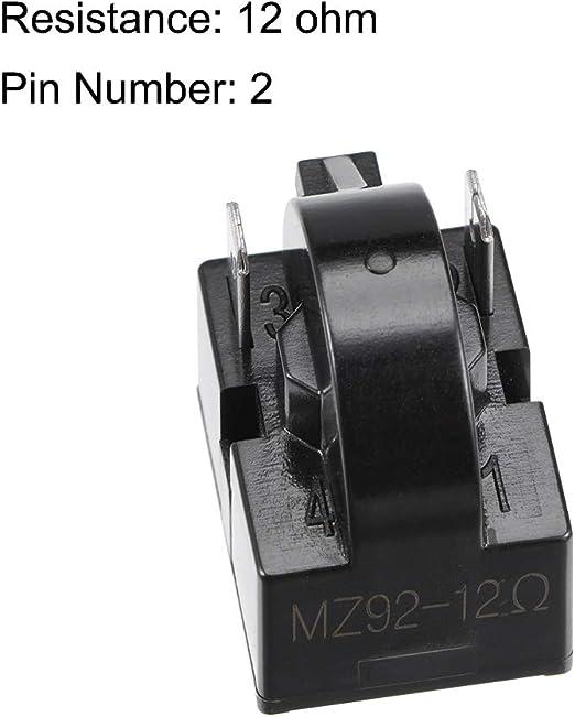 33 Ohm Widerstand Einzel Pin Anschluesse Kuehlschrank PTC Anlasserrelais Z8V1