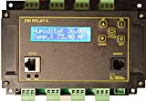 Web Controlled DIN Relay - 8x Channel, AutoPing, Scripting HTTPS, SSL, ADC, WiFi