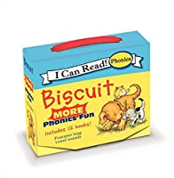 Biscuit: MORE 12-Book Phonics Fun!: Includes 12 Mini-Books Featuring Short and Long Vowel Sounds (My First I Can Read)