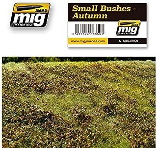 AMMO MIG-8359 Small Bushes - Autumn Grass Mats, Multicolour