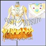 376 【cos-presure】スイートプリキュア キュアミューズ 風衣装◆コスプレ