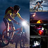 Hosim Bicycle Light, 800LM & 150LM Rechargeable Bike Front and Back Lights, Night Riding Partner for Urban, Road, Mountain