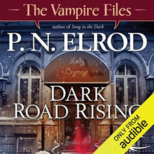 Dark Road Rising audiobook cover art