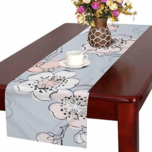 Zenzzle Camino de mesa, 40 x 183 cm, diseño de flores de cerezo