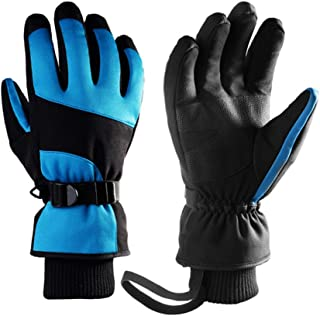Snowboard Ski Gloves, Warm Snow Winter Gloves Winter Gloves for Skiing, Hiking, Climbing, Driving in Cold Weather