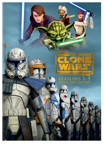 Price comparison product image Star Wars: The Clone Wars - Seasons 1-5