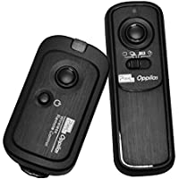 Pixel RW-221/N3 Canon Disparador Inalámbrico para Cámara Réflex Canon EOS 7D, 1D, 1Ds Mark II, III, IV, 5D Mark II, 50D, 40D, 30D, 20D, 10D, EOS 3, D60, RS-80N3