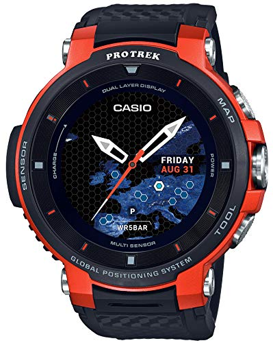 [Casio] CASIO smart outdoor watch Proto Rec smart GPS equipped WSD-F30-RG Mens