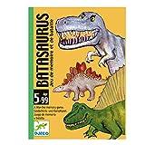 Djeco - Batasaurus - Jeu de mémoire et de bataille