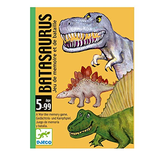 Djeco- Batasaurus, Juego de Cartas, Multicolor (35136A)