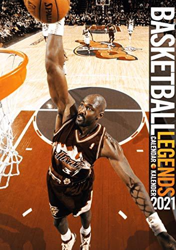 Basketball Legends 2021 Calendar