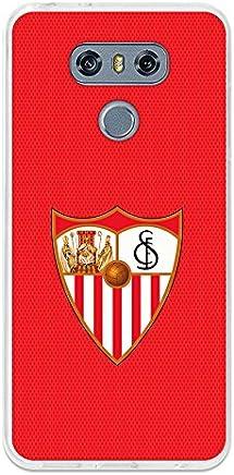 22fc5d75204 BeCool Funda Gel Flexible Sevilla FC para LG G6 - Carcasa TPU Licencia  Oficial Sevilla FC