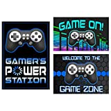 (Poster Set) - Video Game Themed Party Supplies for Your Gamer (Poster Set)