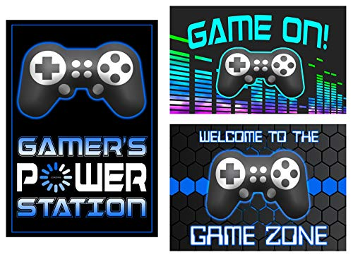 Video Game Themed Party Supplies for Your Gamer (Poster Set)