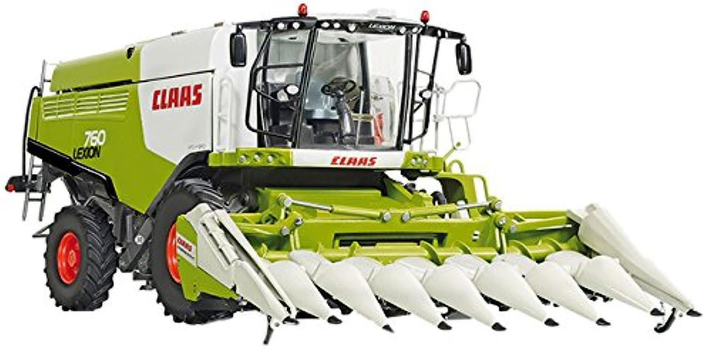 Wiking 7340 - Claas Lexion 760 Mhdrescher mit Maisvorsatz