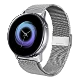 Kartice Compatible with Samsung Galaxy Watch Active (40mm), silver, Size No Size