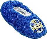 Minions - Pantuflas de peluche con diseño de Minions de Gru, mi villano favorito, color Azul, talla 29 EU