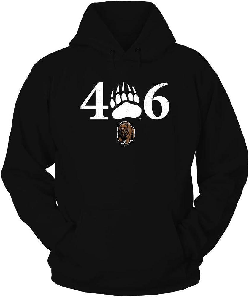 FanPrint Montana Grizzlies ●スーパーSALE● セール期間限定 Hoodie - SALE開催中 The 406