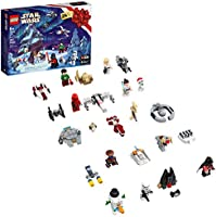 LEGO Star Wars Advent Calendar 75279 Building Kit for Kids, Fun Calendar with Star Wars Buildable Toys Plus Code to...