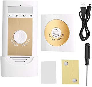 Easy to Install Wireless Intercom Doorbell, Low Power Consumption Access Control System, for Home Security Door Bell Acces...