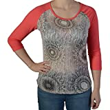 DESIGUAL - Camiseta Desigual 67T2SC8 rosa - W14383 - l