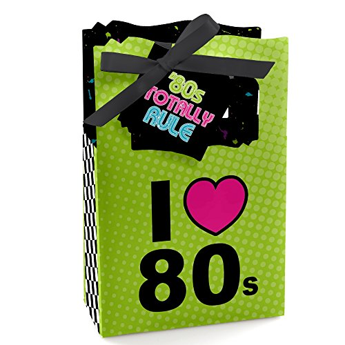 80s Party Favor Bags (Set of 24)